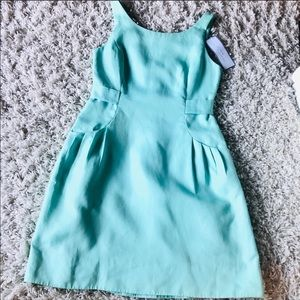 J Crew Mint a Green Party Dress